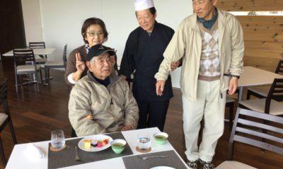 地主さん米寿のお誕生日